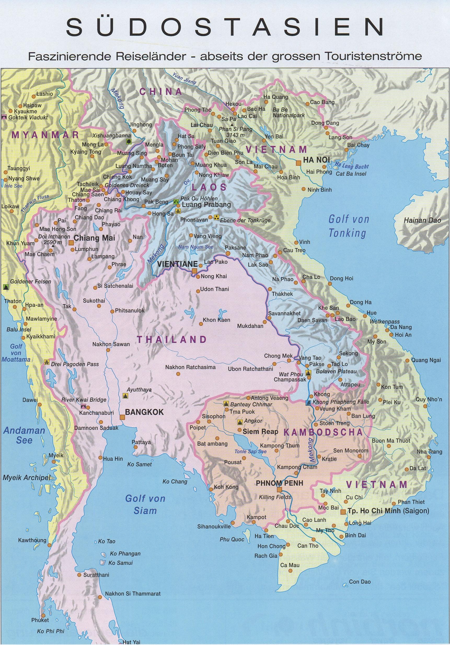 Karte Thailand Kambodscha.Thailand Kambodscha Karte Hanzeontwerpfabriek